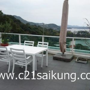 Walking Distance to Sai Kung Town, Full Seaview, Rare !!