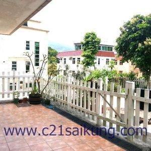 西貢複式村屋