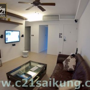 Managed Property in Sai Kung, Close to Sai Kung Town, Covered Car Park, Club House Facilities, Top-Notch Appliances throughtout !!!