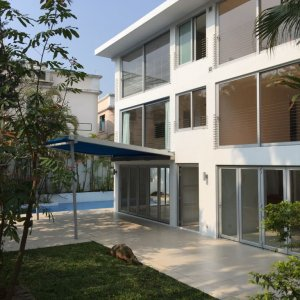 SAI KUNG VILLAGE HOUSE WITH BIG GARDEN & PRIVATE POOL