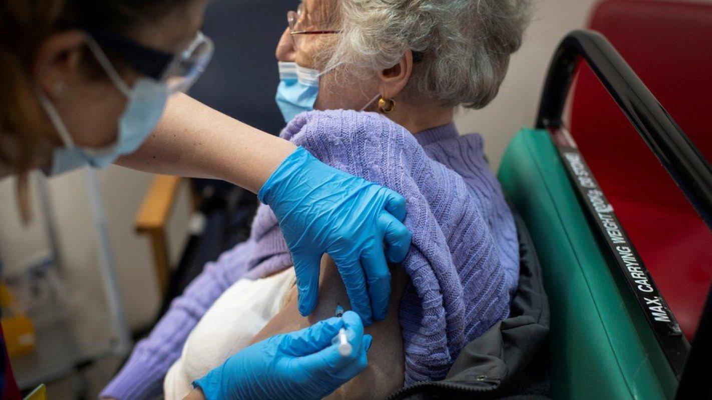 英國接種新冠疫苗量排名是歐洲第一