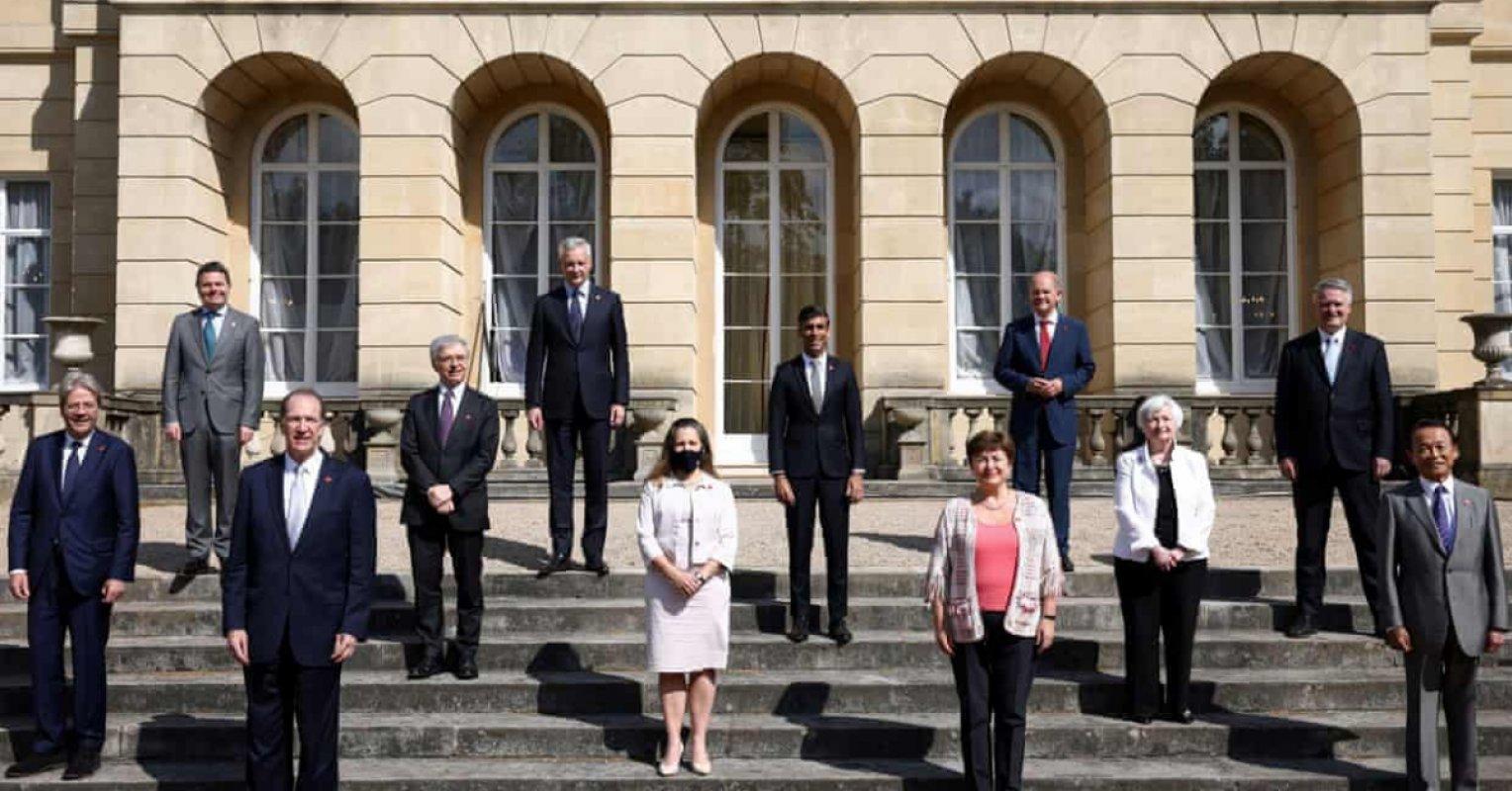 七國集團(G7)和歐盟宣佈達成「歷史性」稅收協議