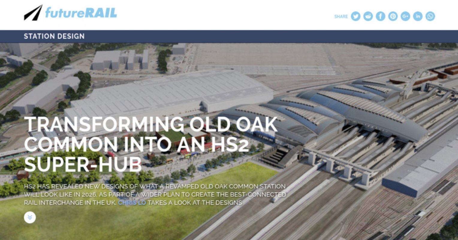 英國 HS2 高鐵 2號線正式開建
