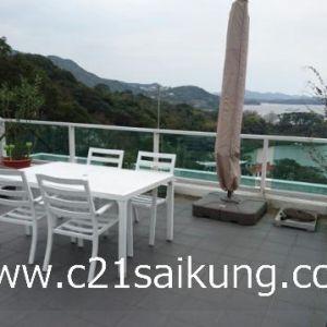 Walking Distance to Sai Kung Town, Full Seaview, Rare !!