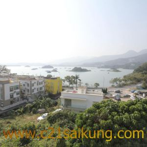 SAI KUNG FULL SEA VIEW WITH LARGE GARDEN
