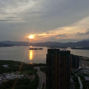 馬鞍山 銀湖天峰 極高層日落海景