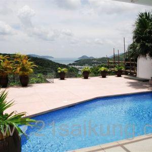 西貢半山 海景獨立泳池屋 巨園可泊多車