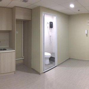 葵涌 工作坊有獨立洗手間,有裝修,24小時出入