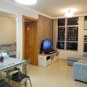 愉翠苑 居二市場 高層3房間隔 企理即住 可睇樓