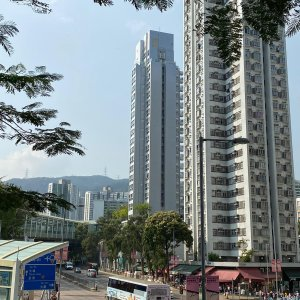 大圍市中心, 罕有簇新大廈; 交通生活配套齊全; [高層]一房一大廳浪漫甜蜜小天地 !