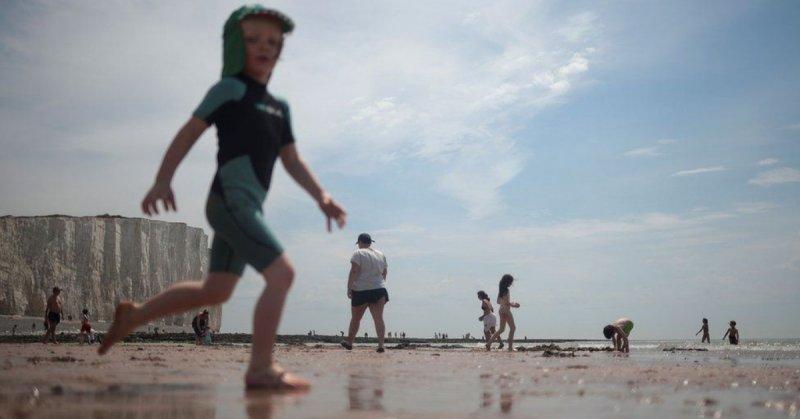 英國連續第三天創下年內最高溫度